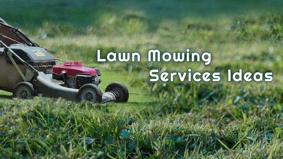 Lawn Mowing Ideas